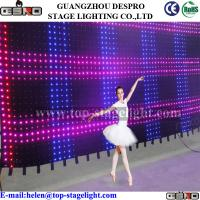 Quality LED video curtain P10CM for sale