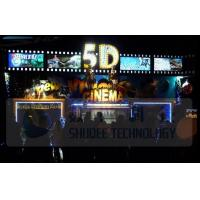 Quality Electric 5D Movie Theater Motion Chairs System With Special Environment Effect for sale