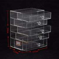 Buy 5 Tier Acrylic Display Stand Custom Store Fixtures Jewelry Display Drawer With at wholesale prices