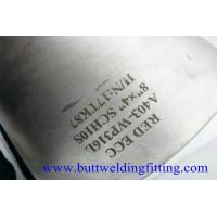 Buy A403 WP316L Stainless steel Eccentric Reducer Butt Weld Fittings ASME B16.9 8' at wholesale prices