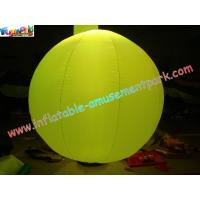 China Stage Pvc Inflatable Lighting Decoration Ball on sale