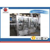 Buy High Accuracy Carbonated Drinks Filling Machine 2000 - 3000BPH For Soda Sparkling Water at wholesale prices