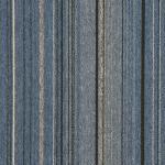 Quality PP  Stripe  Commercial Office Carpet Tiles 50cm X 50cm Tile Size for sale