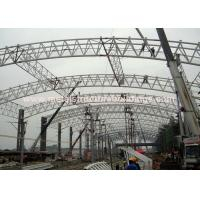 Commercial Prefabricated Steel Warehouse Firm Structure Painted With Hempel for sale