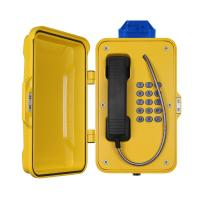 Buy IP67 Industrial Weatherproof Telephone With Beacon , PoE Powered Tunnel Phone at wholesale prices