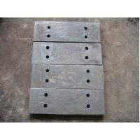 Quality High Wear Resistance Cast Iron Steel Jaw Plates For Jaw Crushers for sale