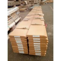 China JCB blades JCB flat cutting edges , JCB single beveled cutting edges with high Mn material for JCB Loader for sale