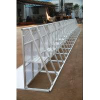 Buy Lightweight Road Traffic Barriers , Aluminum Temporary Pedestrian Barriers at wholesale prices