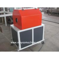 Quality PVC Plastic Hole Punch Machine / Pipe Perforating Machine Air pneumatic structure for sale