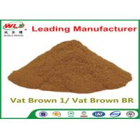 Buy Custom Synthetic Dyes C I Vat Brown 1 Brown BR Dye For Synthetic Fabric at wholesale prices