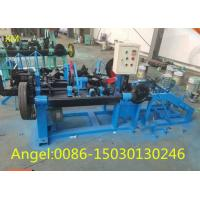 Quality High speed full Automatic Double Twisted standard Barbed Wire Machine for sale