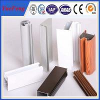 Quality aluminum profile section producting line , polyamide insulation aluminum profile factory for sale
