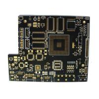 Quality Black soldermask PCB HDI multilayer with immersion gold manufacturer for sale