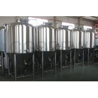 China 1000L food grade stainless steel fermentation tanks mirror polished for beer brewing in hotel and brewery on sale