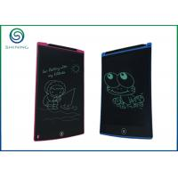 China 8.5'' / 12'' Electronic LCD Writing Tablet With Stylus Holder / LCD Drawing Tablet on sale