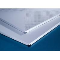 Quality Perforated 600x600MM Clip In Ceiling System for Hotel for sale