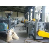 Quality Full Automatic Double - Screw PVC Plastic Pipe Machine With CE / ISO Approved for sale