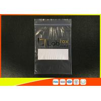Quality Damp - Proof Clear Plastic Poly Industrial Ziplock Bags For Electronic Products for sale