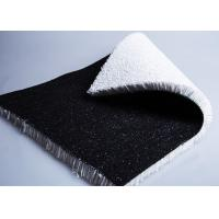 20mm Artificial Ski Slope Grass For Outdoor Skiing Black Artificial Snow Surface