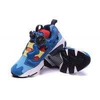 China Reebok Insta Pump Fury XOX Golden Running Shoes Bait Tedi2 Dark Blue Color Spots Sneaker Free Shipping for sale