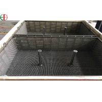 Buy 1.4849 Heat Treatment Furnace Wire Mesh Basket Iron Forging Furnace Trays And Baskets EB3197 at wholesale prices
