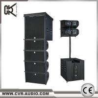 China CVR Factory Active 10 Inch Line Array Powered 18 Inch Subwoofer System With Dsp Amp for sale