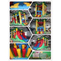 Quality Mini jungle Inflatable Obstacle for sale