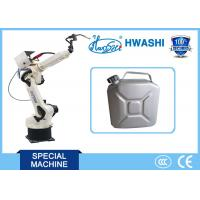 China AC Servo Driving 6 AXIS Industrial Robots , CNC Robotic Welding Machine For Jerrycan on sale