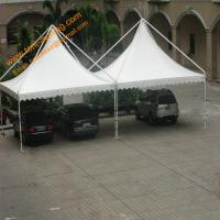 Buy cheap Outdoor UV Resistance Fireproof  Powder Coated Steel Gazebo Parking Tent from wholesalers