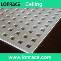 China perforated gypsum ceiling board on sale