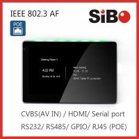 Quality OEM Industrial Grade 7 Inch Android Tablet With POE LED Light With Customized Wall Mount Bracket for sale