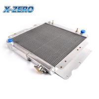 Quality 87-06 JEEP WRANGLER High Efficiency Aluminium Radiators YJ/TJ 2.4L-4.2L 2.5L 4.0L for sale