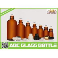 Buy 5ml, 10ml,15ml,20ml,30ml,100ml Empty Glass Essential Oil Bottle With Pipette at wholesale prices
