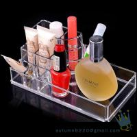 Quality acrylic cosmetic makeup organizer for sale