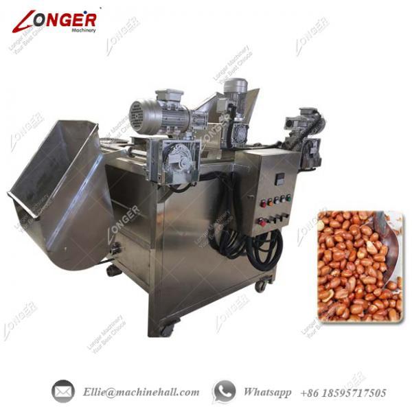 peanut frying machine