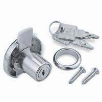 Buy cheap Flat Key Wafer Cabinet Lock with Over 150 Key Combinations from wholesalers
