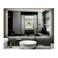 Buy cheap Smart led without frame bathroom mirror wall hanging mirror bathroom vanity mirror anti-fogging mirror from wholesalers