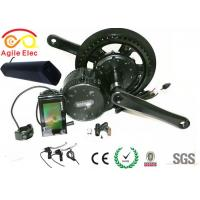 Quality Bafang Mid Crank Drive Electric Bicycle Motor Kit With Thunder Type Battery for sale
