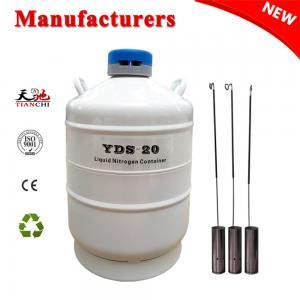 China TIANCHI liquid nitrogen storage tank 20L in North Korea on sale
