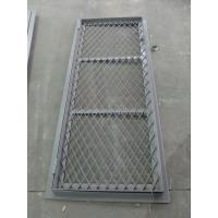 Quality Double Opening Square Angle Marine Wire Mesh Door 8 mm Thickness for sale