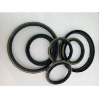 Quality Silicone Material Iron Shell + Rubber  DKBI DLI Black And Yellow Rubber Dust Seals for sale