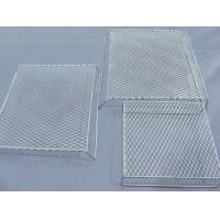 China Bbq Flattened Expanded Wire Mesh Grill Deep Processing 4.6mm Strand Width on sale