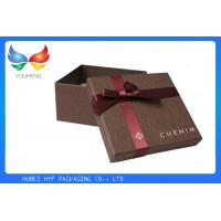 Quality Black Paper Luxury Gift Boxes Packaging Delicate Design With Fine Craftsmanship for sale