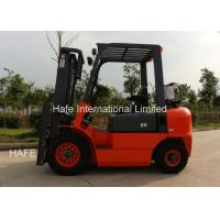 Quality CQCD25 2.5T Propane Fuel System Forklift , Fork Lift Trucks With 3 Stage 5m Container Mast for sale