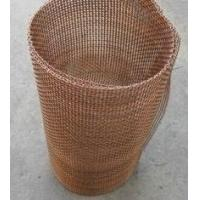 Quality Decorative Crimped Brass/Coper Wire Mesh Used Almost Exclusively Indoors, Resistant to acid, alkali, wear, corrosion. for sale
