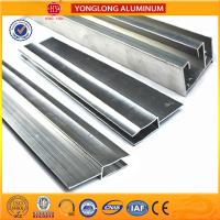 Quality Acid Resistant Anodized Aluminum Profiles Smooth Edges For Trains Machinery for sale