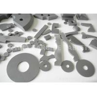China K20 K30 Customized cutting tungsten carbide Tablets For Alloy Steel / Iron on sale