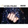 Buy cheap Glitter Powder Sparkle Gel Nail Polish , Platinum Glitter Led Gel Nail Polish No from wholesalers