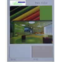 Buy PVC Flooring , PVC Composite Flooring, commercial pvc flooring, Pure color- dark green and red color at wholesale prices