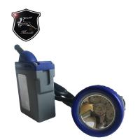 Buy Yellow-Blue Color Customization  Miners Waterproof Corded Cap Lamp  KL7LM-A at wholesale prices